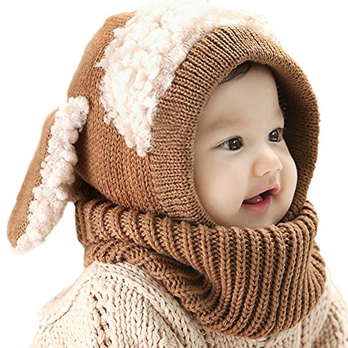 PanDaDa Winter Woolen Earflap Scarves