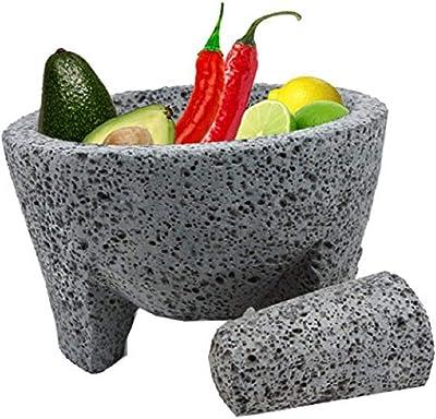 TLP Molcajete Handmade Mexican Mortar & Pestle