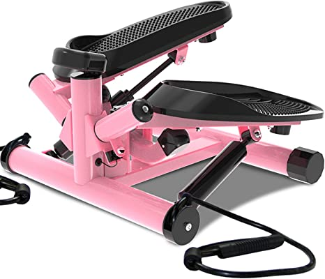 leikefitness ST6610 - Escalera portátil con Correa y Monitor LCD, Rosado: Amazon.es: Deportes y aire libre