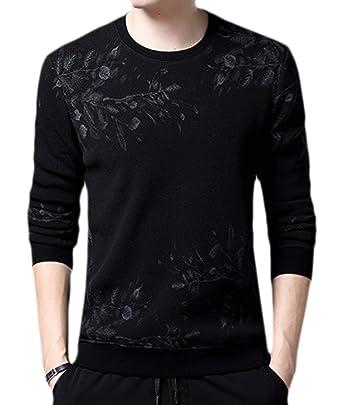 Camiseta De Manga Larga Ner Para Hombre De Simple Estilo Sudaderas De Invierno De Otoño E ...