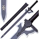 Real Sword Sao Kirito Elucidator Replica Art Online Version 41 Inches