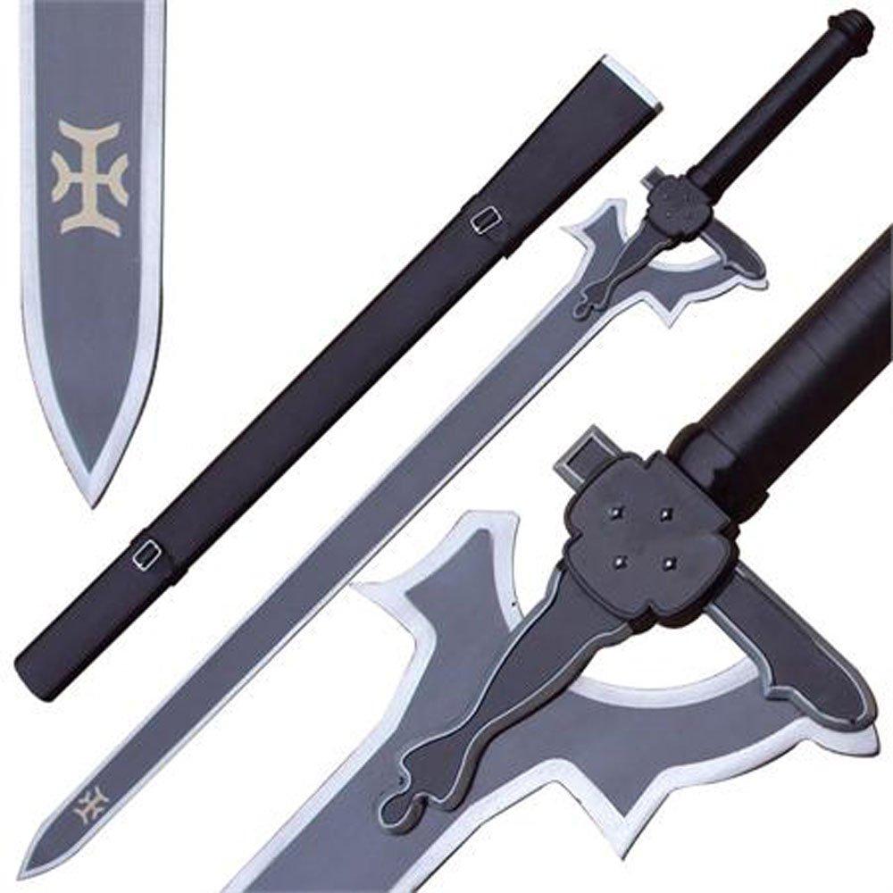 Real Sword Sao Kirito Elucidator Replica Sword Art Online Version 41 inches