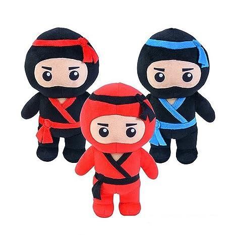 Soft Plush Ninja Plush Stuffed Toy Doll 9
