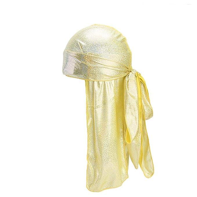Rcool Gorras de béisbol Viseras Gorro de pescador Pamelas Sombreros Panamá, Mujeres colorido musulmán estiramiento retro turbante sombrero B: Amazon.es: ...