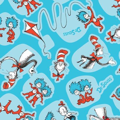 Bumkins Waterproof Splat Mat, Seuss Cat in the Hat