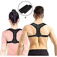 CAVN Adjustable Haltungskorrektur Rückenstütze für Herren Damen, Bodywellness Posture Corrector Lendenwirbelstütze Rückenstütze - Rücken, Schulter, Taille, Nackenschmerzen Relief Support