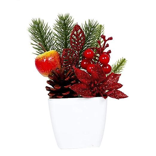 Gysad Decoracion navideña Pequeño y exquisito Decoracion navideña ...