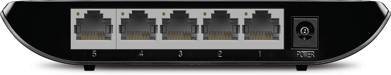 Unshielded Network Switch LS1008G Fanless Quiet Plastic Case Unmanaged Plug /& Play Desktop Ethernet Splitter TP-Link Litewave 8 Port Gigabit Ethernet Switch