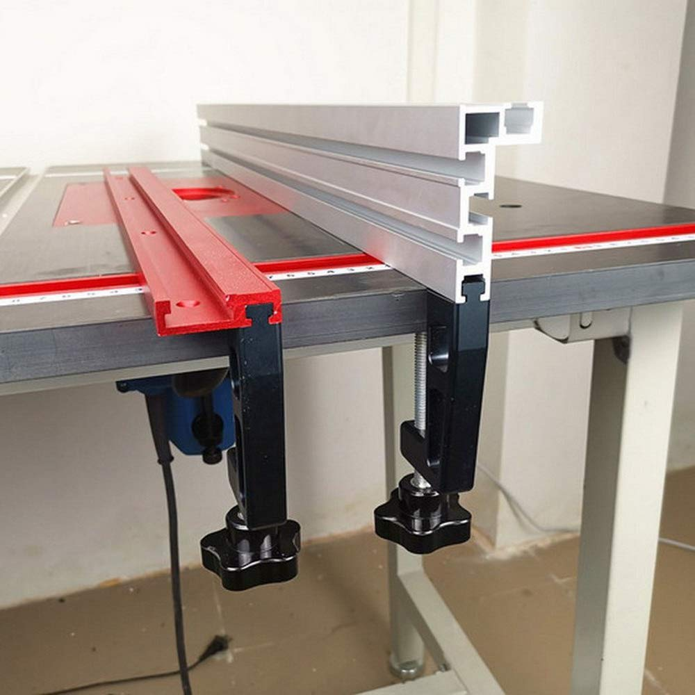 Laecabv 75 Tipo T-Slot T-Track Mitra Track Stop Chute Stopper Manuale binario a T la Lavorazione del Legno Strumenti DIY Forniture Falegname