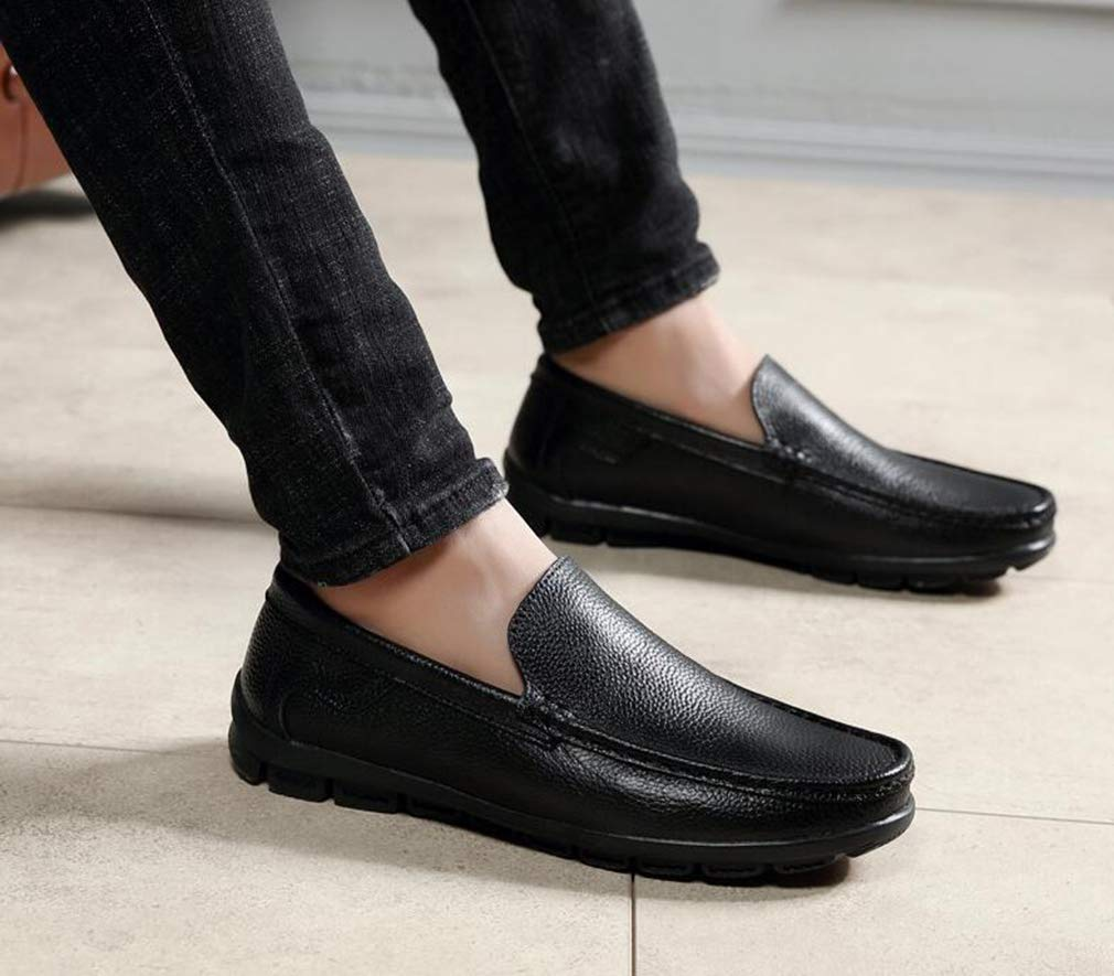Hy Herrenschuhe, 2019 Spring Loafers Loafers Loafers & Slip-Ons Lazy Schuhe Erbschuhe, Herrenschuhe Slip-Ons Driving schuhe Business schuhe Office & Career Party & Evening,schwarz,40 a6d673
