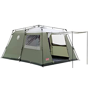 Coleman Instant 4 Family Tent - Green/White  sc 1 st  Amazon UK & Coleman Instant 4 Family Tent - Green/White: Amazon.co.uk: Sports ...