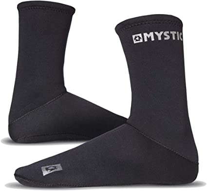 2020 Mystic Neoprene Semi Dry Sock 2mm Round Toe