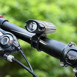 XuBa Led Luz USB Lámpara Bicicleta Recargable Delantera Ciclismo ...