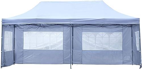10×20 ft EZ Instant Pop up Canopy Carport,Party Tent Folding Gazebo