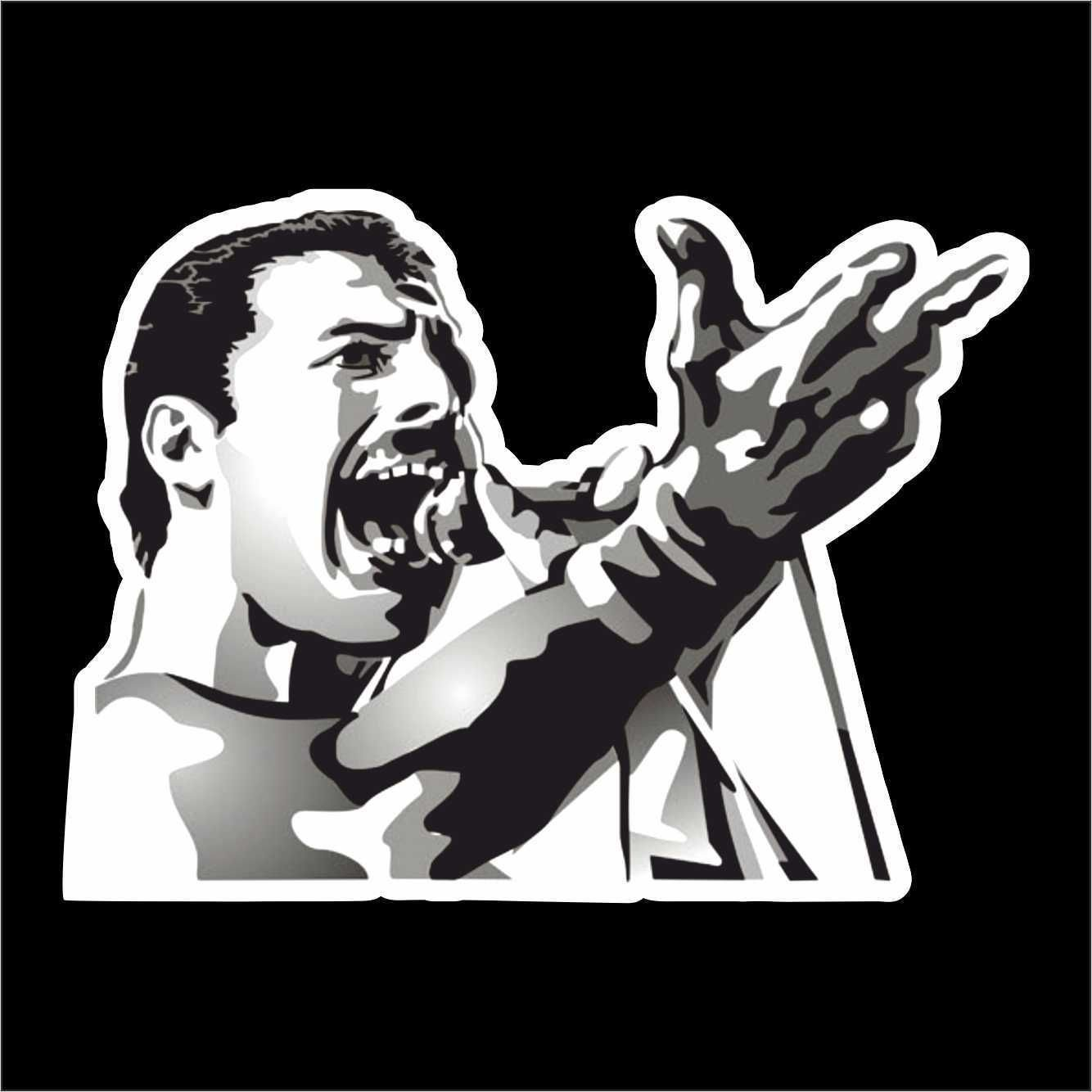 Aufkleber Sticker Queen Freddie Mercury hip hop rap jazz hard rock pop funk sticker