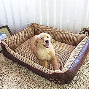 Amazon.com : ColorfulHouse Reversible Vintage Dog Bed for