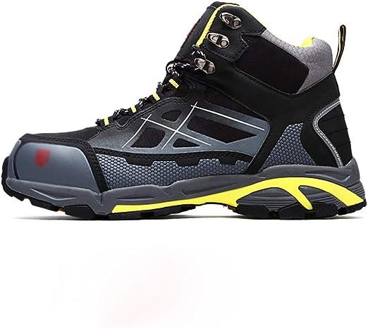 Zapatos de seguridad Deber zapatillas de deporte de los hombres ...
