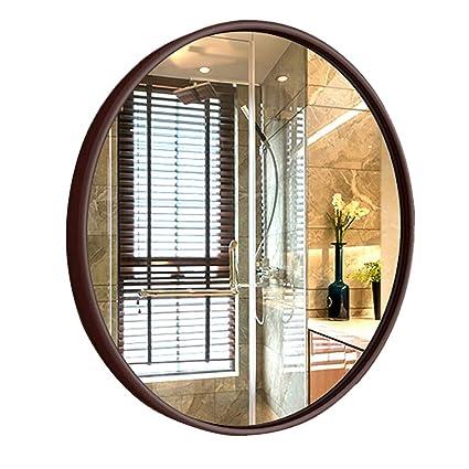 Amazon.com: Wall-Mounted Mirror Wall-Mounted Bathroom Mirror ...