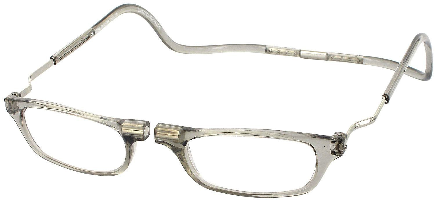 Clic XXL Magnetic Reading Glasses in smoke, +2.50 by Clic Goggles