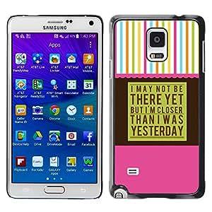 Caucho caso de Shell duro de la cubierta de accesorios de protección BY RAYDREAMMM - Samsung Galaxy Note 4 SM-N910 - Aa Anonymous Alcoholics