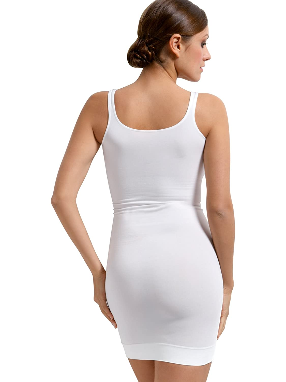 SENSI\' Enagua Entera Lencería Moldeadora Mujer Sin Costuras Made in ...