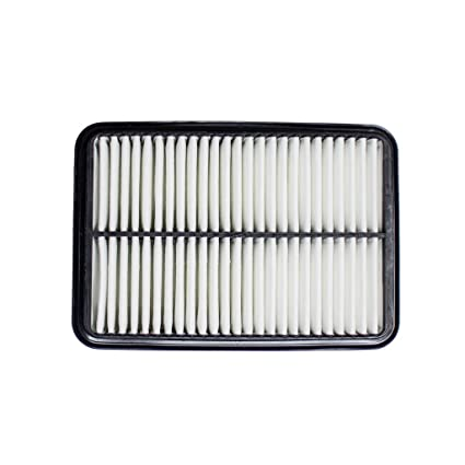VIOJI 1pc White New Intake Panel Cleaner Engine Air Filter OE Quality  Replacement For Toyota Tacoma/Previa/Hilux Pickup/4Runner & Mazda 929 &  Isuzu