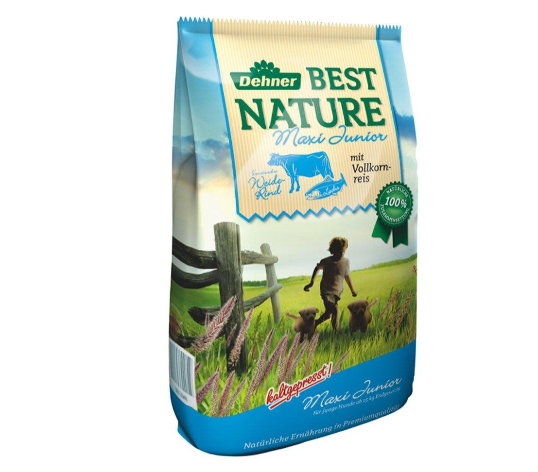 12.5 kg Dehner Best Nature Dog Food, Beef and Salmon