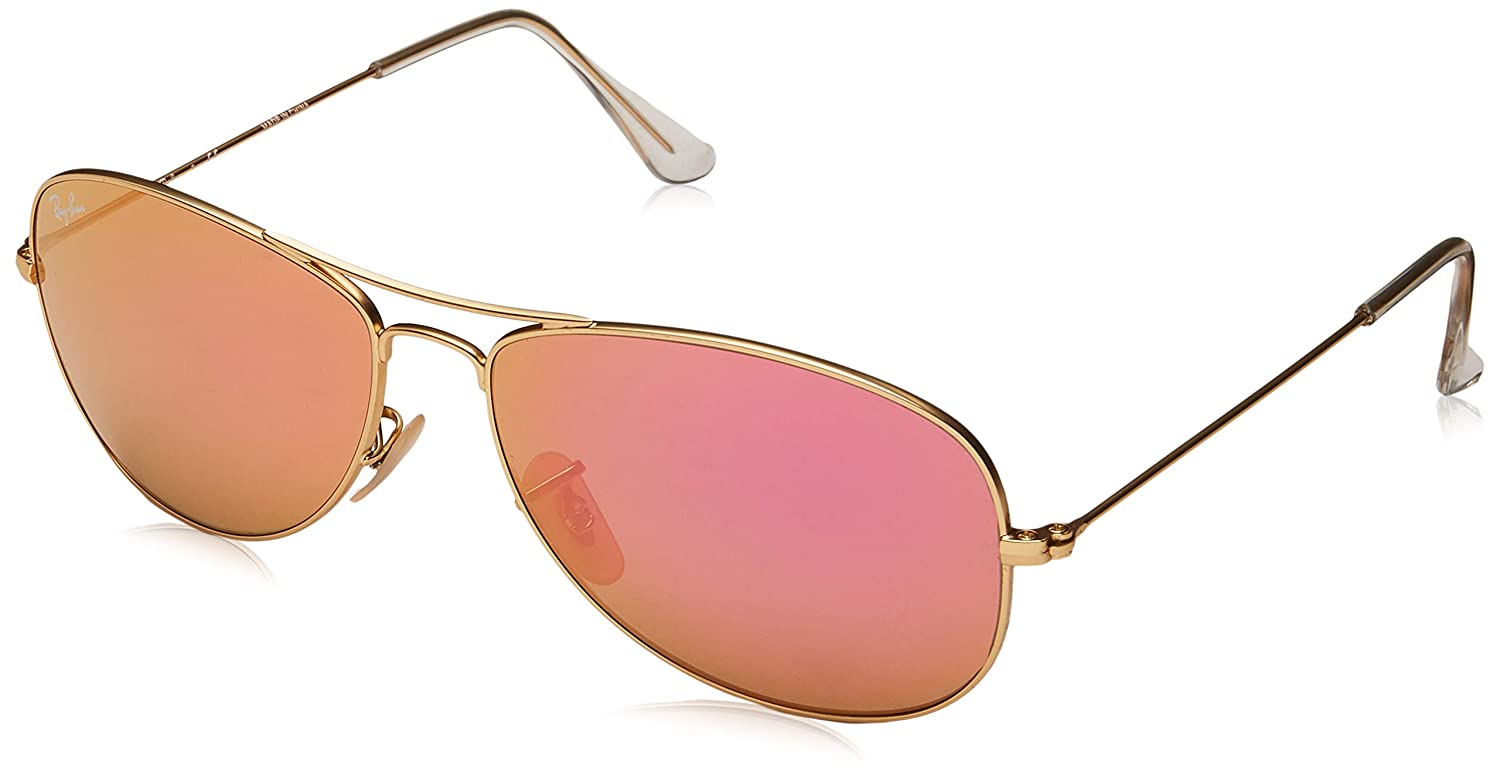 a981b412f12df Amazon.com  Ray-Ban Men s Cockpit Aviator