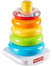 Fisher-Price FHC92 - Pirámide balanceante, juguete para bebé +6 meses
