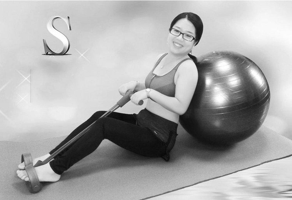 Yoga yoga yoga ball yoga mat rally palla da ginnastica per