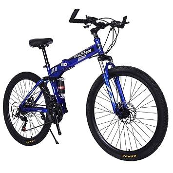 MUYU Bicicleta Plegable para Adultos de 26 Pulgadas para Hombre ...