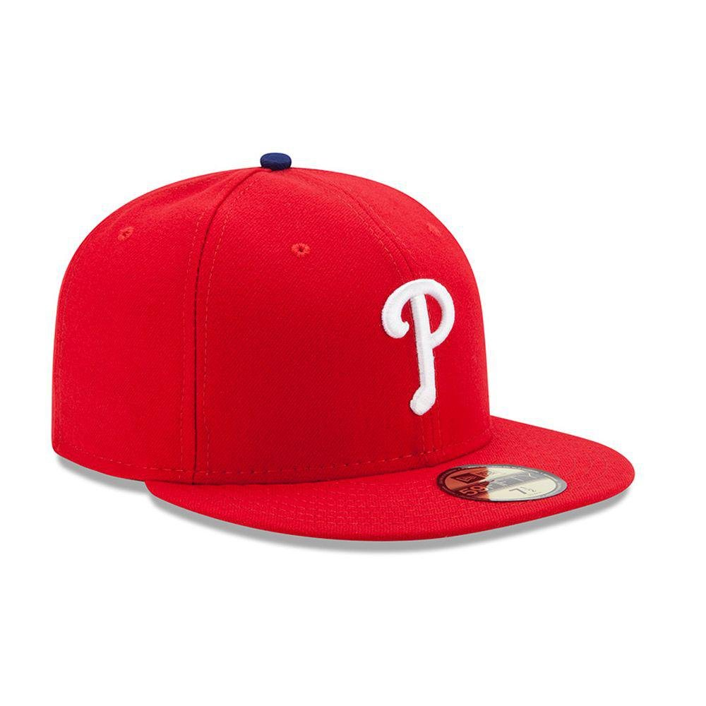 New Era 59FIFTY Philadelphia Phillies MLB 2017 Authentic Collection On-Field Game Fitted Hat