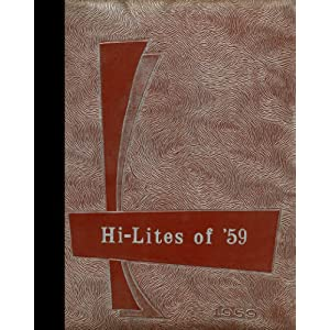 (Reprint) 1959 Yearbook: Atkins High School, Atkins, Iowa Atkins High School 1959 Yearbook Staff
