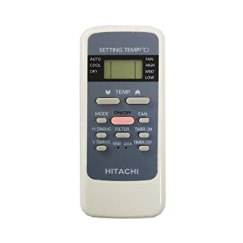 hitachi remote. sharp plus sp-1377 remote control for hitachi split/window ac (white) o