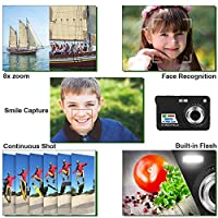 HD Mini Digital Camera with 2.7 Inch TFT LCD Display, Kids Childrens Digital Video Cameras-- Sports,Travel,Camping,Birthday Present by Yasolote