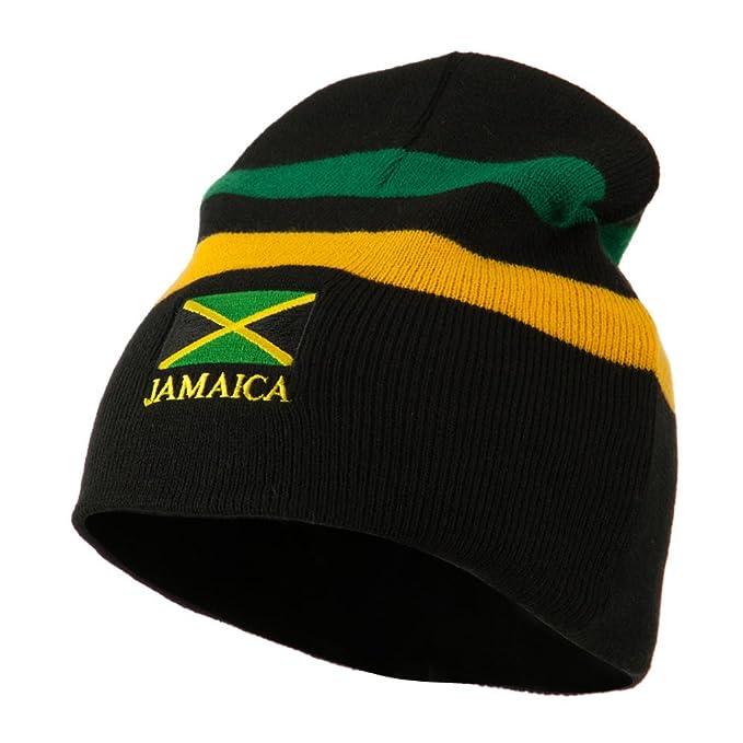 Rasta Beanie-Jamaica Multicolor One size at Amazon Women s Clothing ... 375a1ea2d73