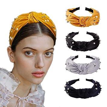 Fashion Women Vintage Hairband Knotted Headband Hair Hoop Girls Hair Accessories
