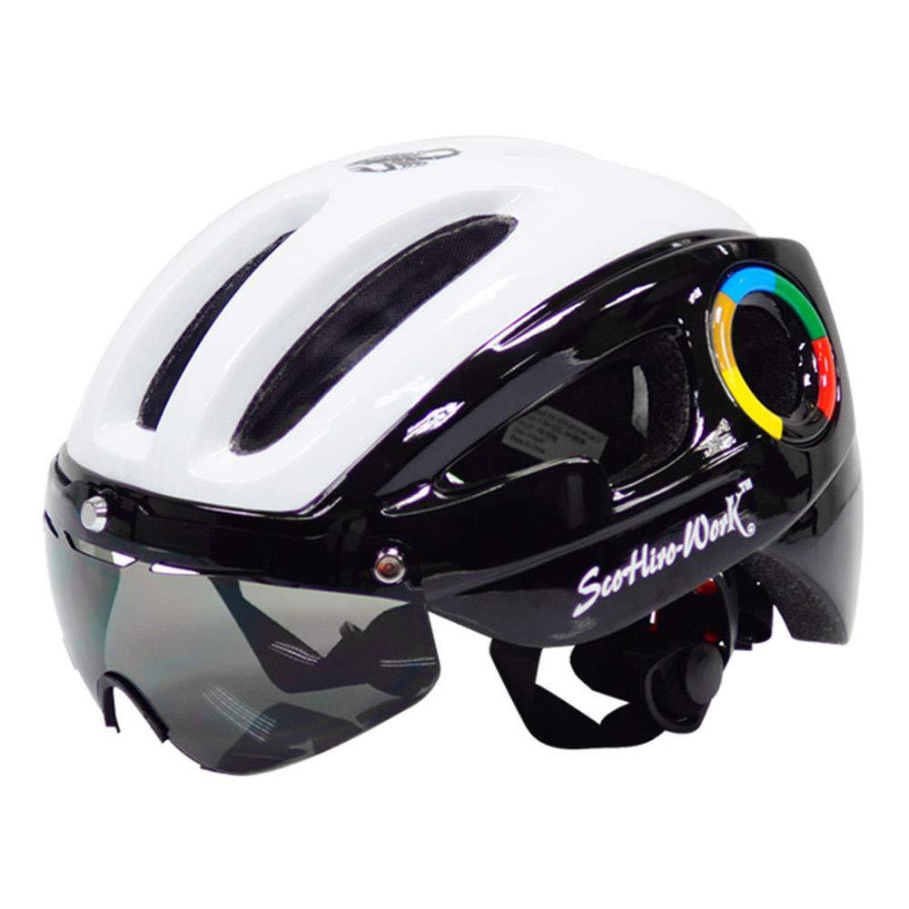 1-1 Radfahren Helme Magnetisch Visiere Leicht Mountainbike Fahrrad Männer Frau Sicherheit Hüte