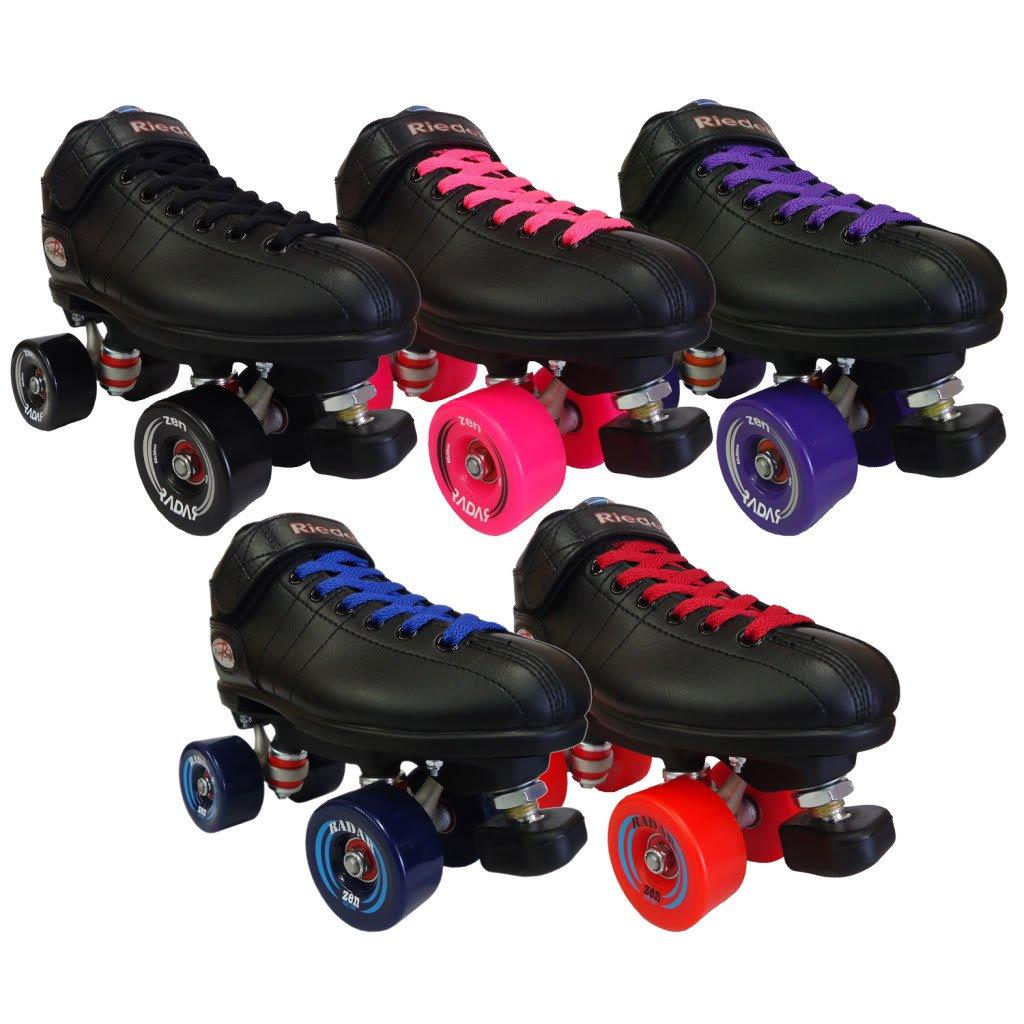 Riedell R3 Zen Outdoor Quad Roller Derby Speed Skates