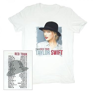 e0f4ec0d2 Taylor Swift T-Shirt Vintage White Hat Tour Tee Youth, Small, Medium ...
