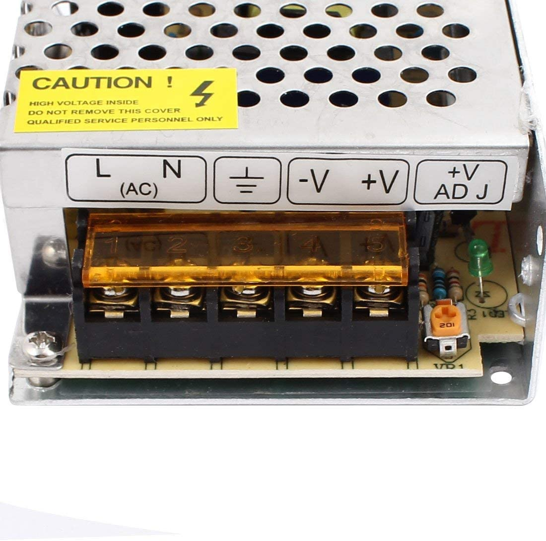 S-25-24 Aluminum housing AC 110V to DC 24V 1A 24W for LED switching power supply