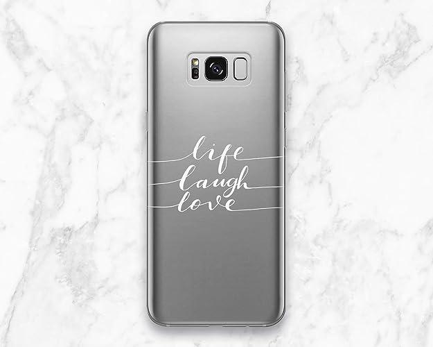 pretty nice c588f 7dd78 Amazon.com: Creative Life Lough Love Back Cover Case For Phone ...