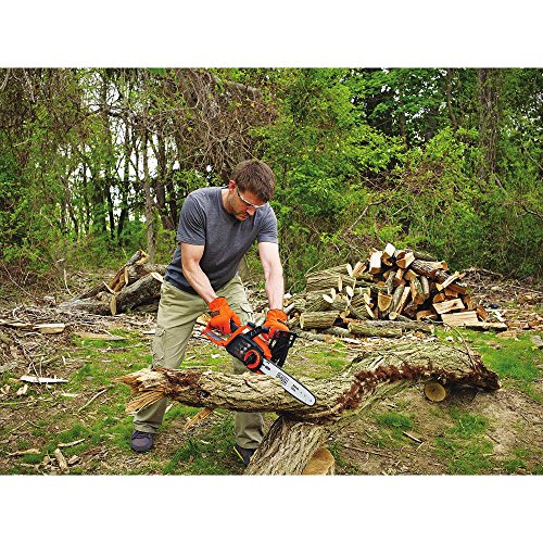 BLACK+DECKER LCS1240B 12-Inch Lithium Ion Chainsaw, 40-volt, Baretool by BLACK+DECKER (Image #2)