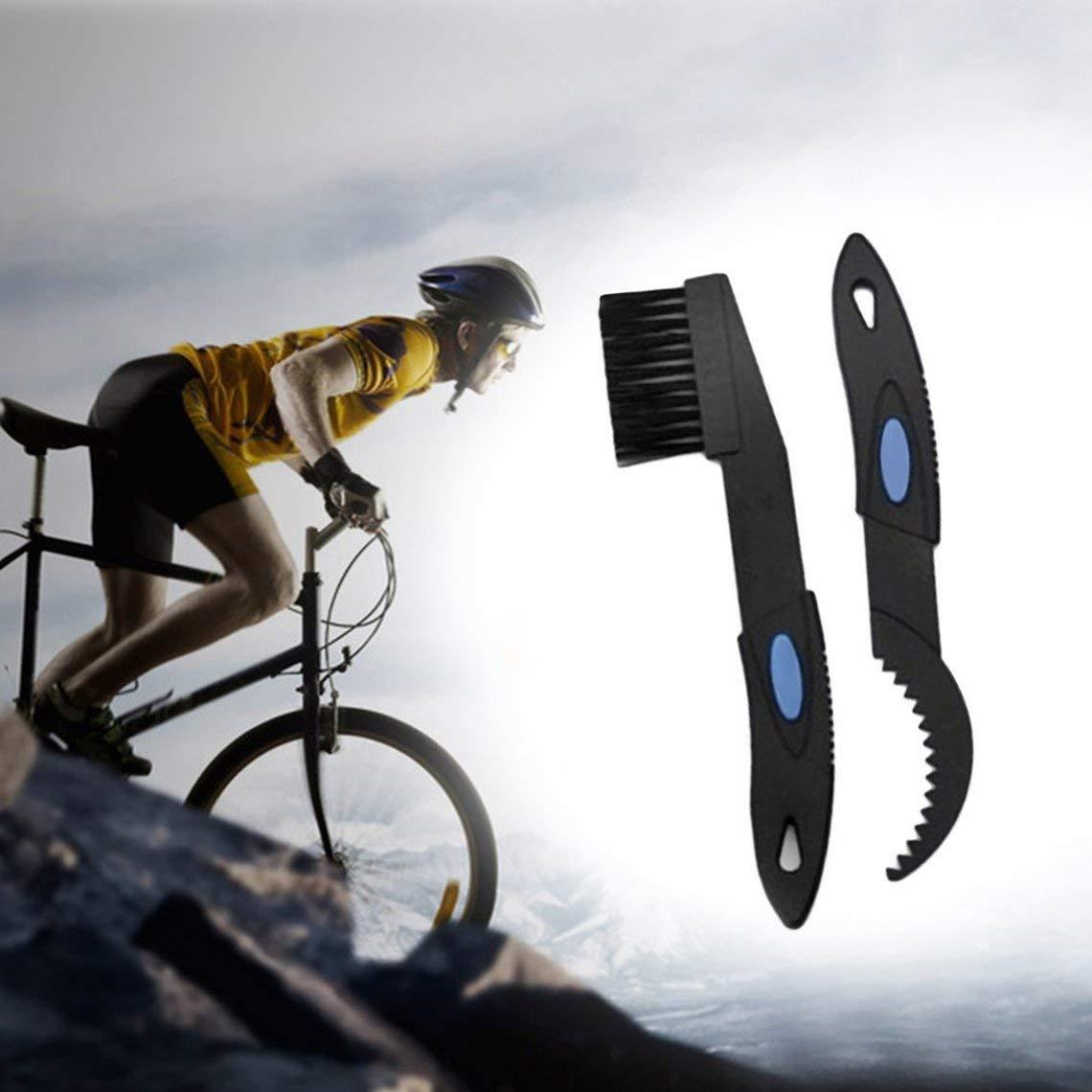 SAHOO Bicicleta Cadena de Limpieza Cepillo de Limpieza Bicicleta Ciclista Limpiador Limpiador Kit de Herramientas La Mejor Marca de Venta: Amazon.es: ...