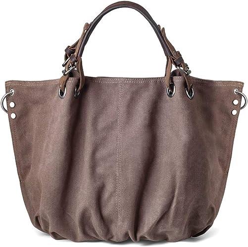 New Women Large Leather Shoulder Bag Messenger Hobo Satchel Tote Crossbody Bag