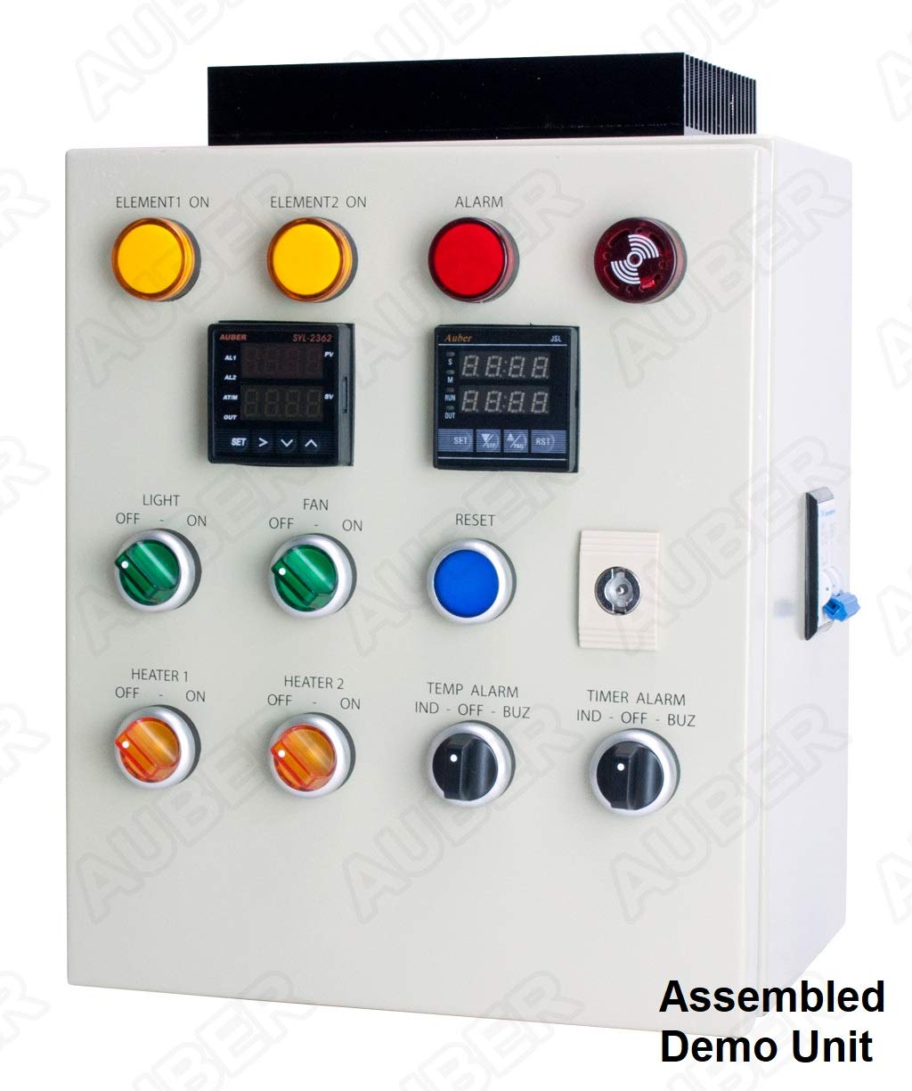 Auber Instruments Powder Coating Oven Controller Kit W Pid Wiring Diagram Light Fan Control 240v 50a 12000w Pco2 Lf Garden Outdoor