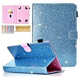 Best Polaroid 10 Inch Tablets - Cookk Bling Glitter Universal 9-10 Inch Tablet Case Review