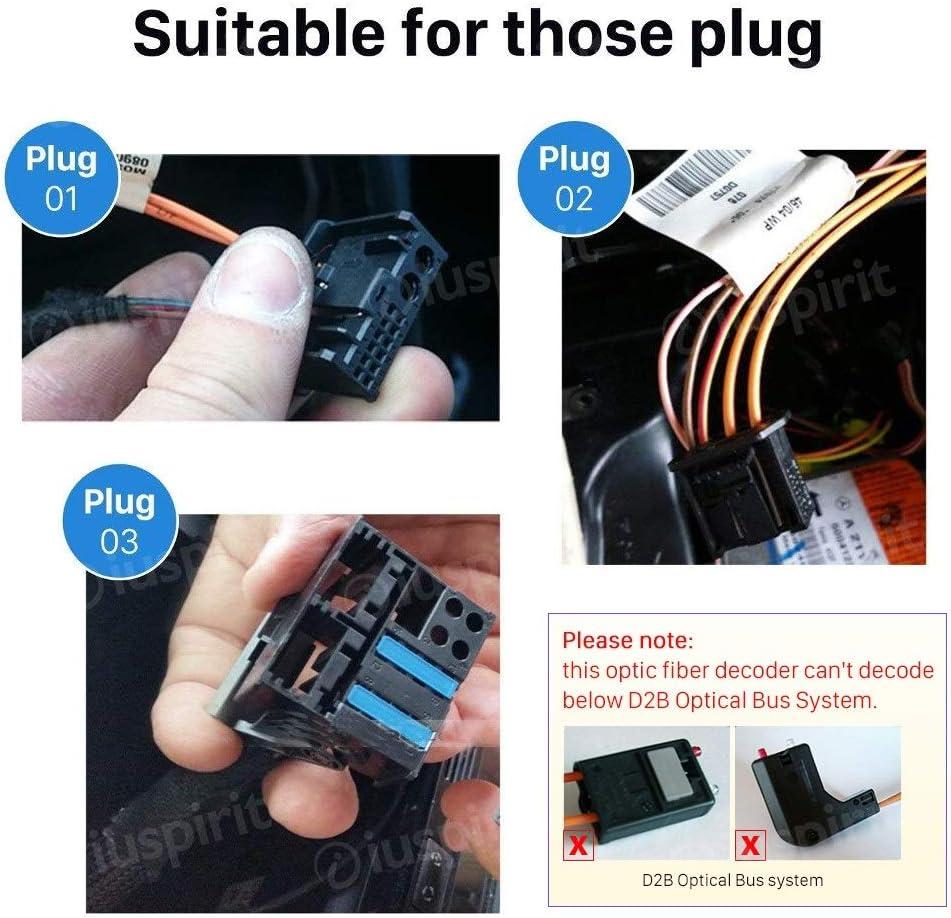 Can Bus Glasfaser Decoder Kompatibel Mit Mercedes Slk Elektronik