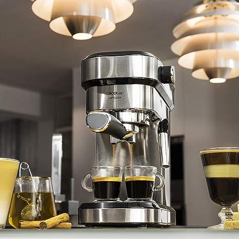 Cecotec Cafelizzia 790 Steel Cafetera express, Acero Inoxidable ...