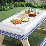 Oback(TM) Portable Inflatable Buffet and Salad Serving Bar With Drain Plug for Picnic ,Camping,and Party